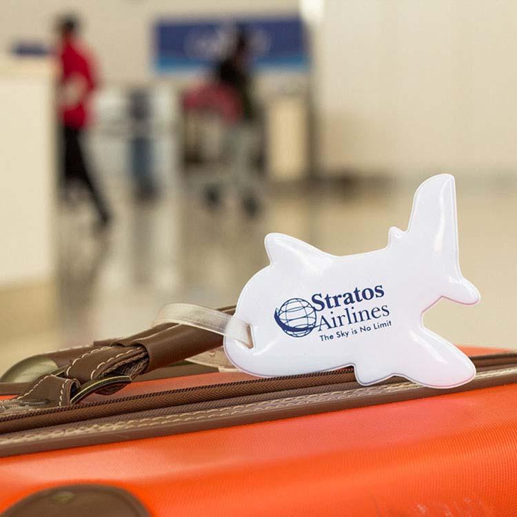 Étiquette à bagage Avion #2
