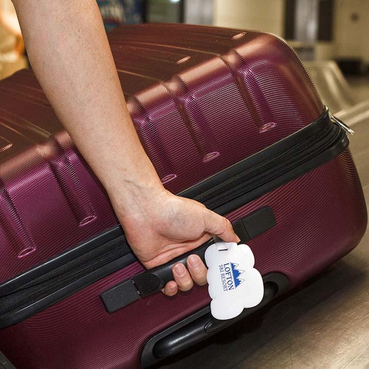 Étiquette à bagage Nuage #2