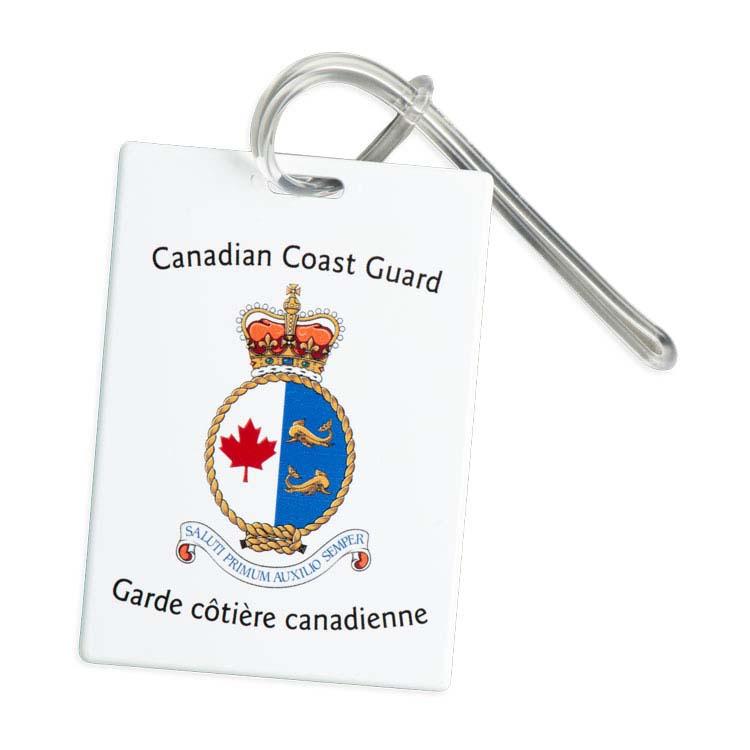 Étiquette rectangulaire pour sac de sport et bagage