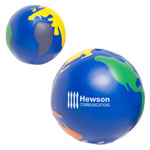 Multi-Colored Earthball Stress Reliever