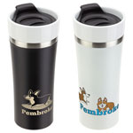 Pembroke 13 oz Ceramic and Stainless Steel Tumbler