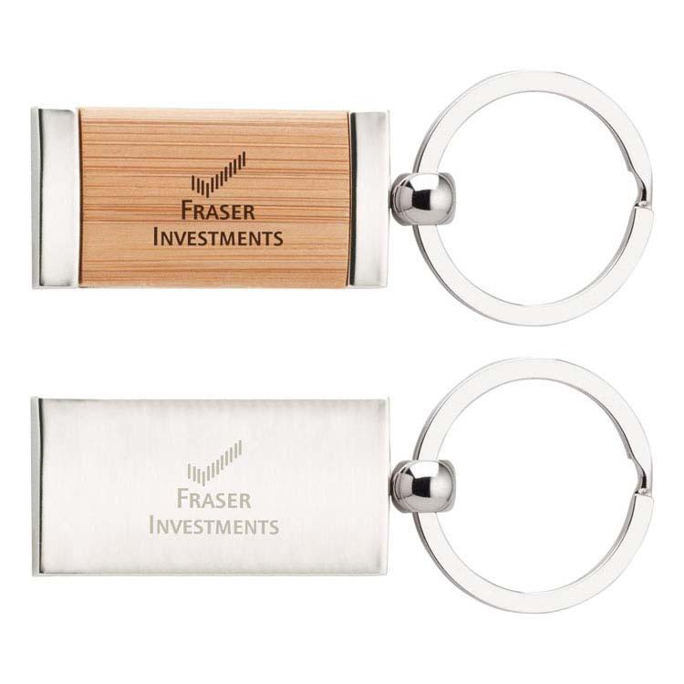 Porte-clés en bambou