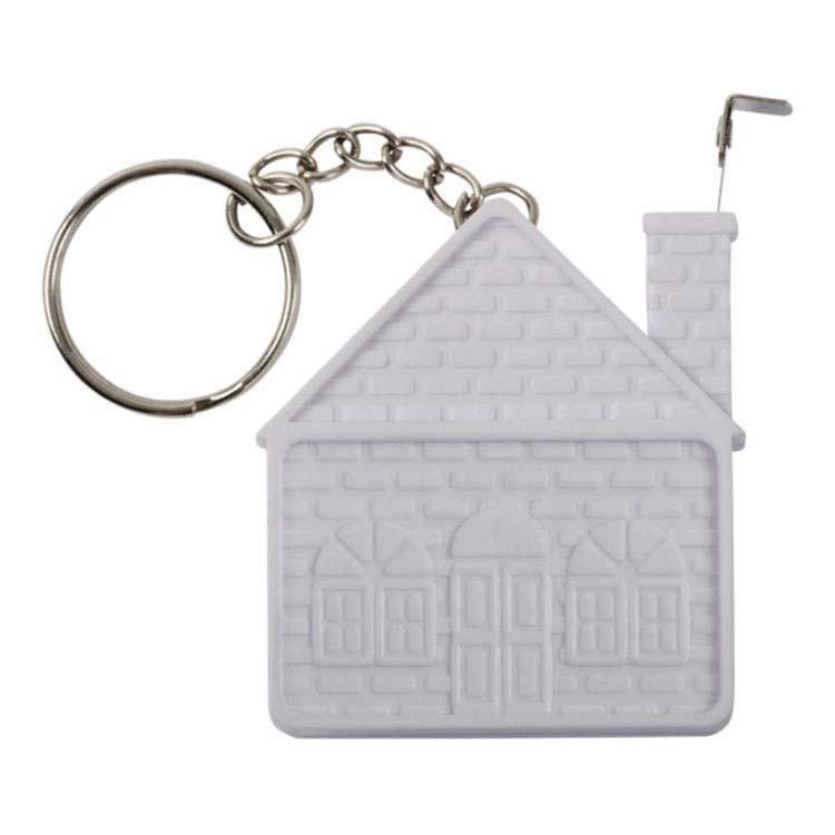 Porte-clés gallon à mesurer en forme de maison #2