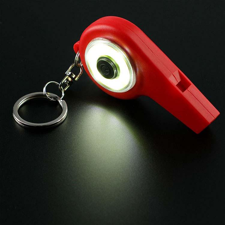 Porte-clés sifflet d'urgence COB #2