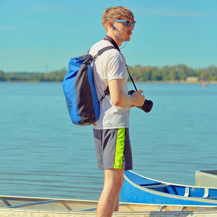 25-Liter Polyester Waterproof Backpack #3