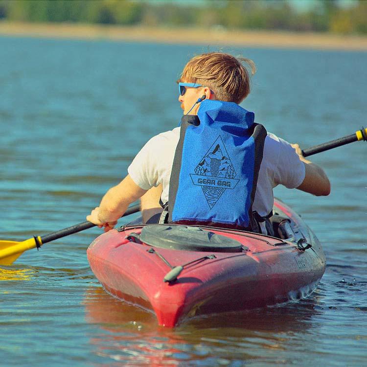 25-Liter Polyester Waterproof Backpack #4