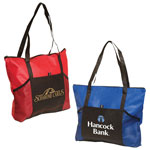 Non-Woven Two-Tone Tote Bag