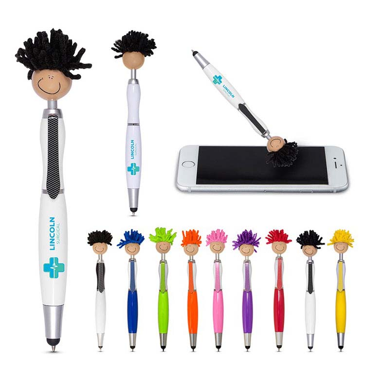 Stylo stylet MopToppers multiculturel Tan