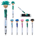 MopToppers Screen Cleaner with Stethoscope Stylus Pen Multi-Cultural Tan