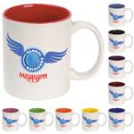 Digital Colour Accent Mug 11 oz