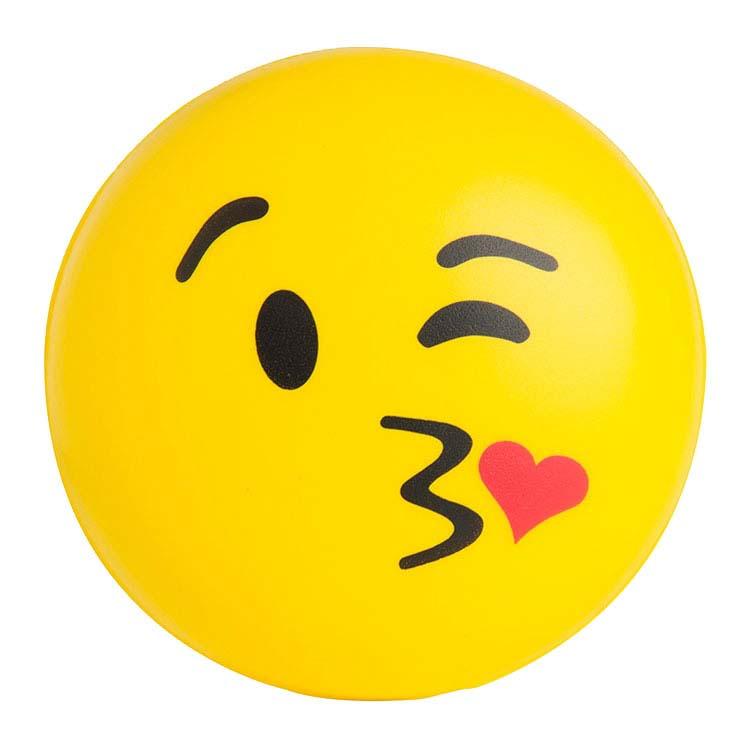 Balle anti-stress Emoji Baiser