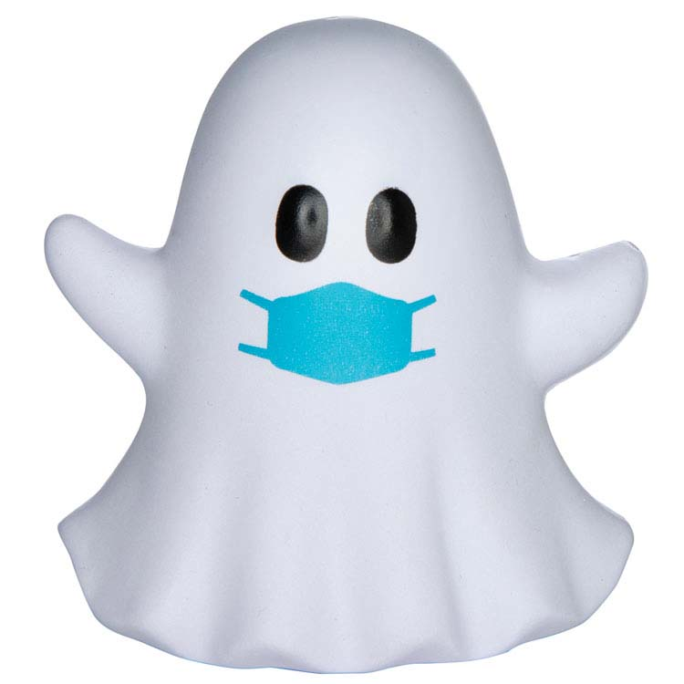 PPE Ghost Emoji Stress Reliever