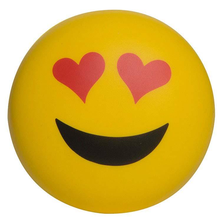 Balle anti-stress Emoji Amoureux