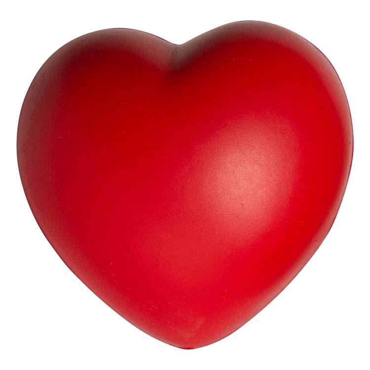 Balle antistress lente coeur