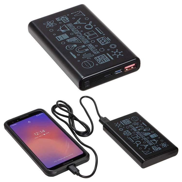 Banque de puissance Elite 10000mAh 18W PD avec ports USB-C et Lightning #2
