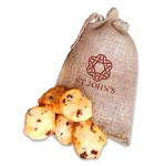 6 Cookies in Burlap Bag 180g