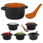 Aztec Ceramic Soup Mug 12 oz
