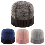 Fully Fashioned Melange Beanie