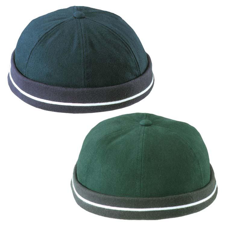 Bonnet en coton brossé épais