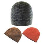 Bonnet en tricot de coton à motif