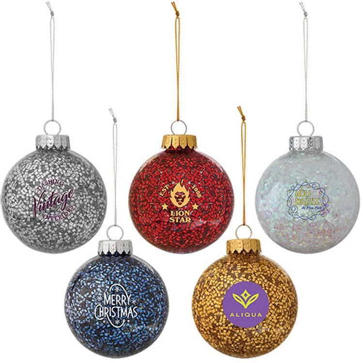 Boule de Noël brillante