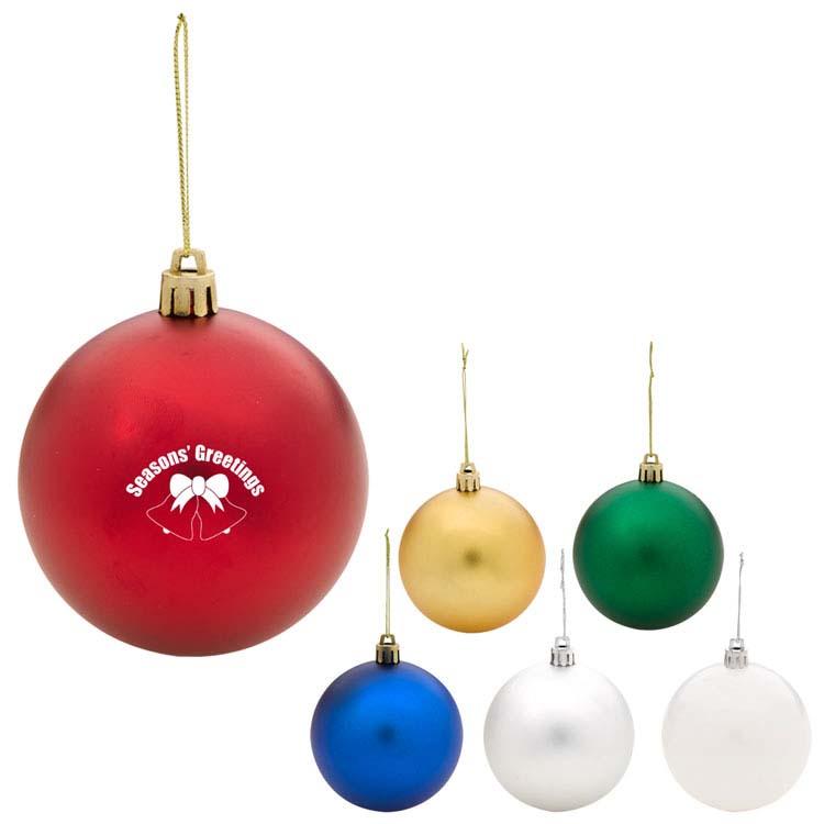 Boule de Noël ronde