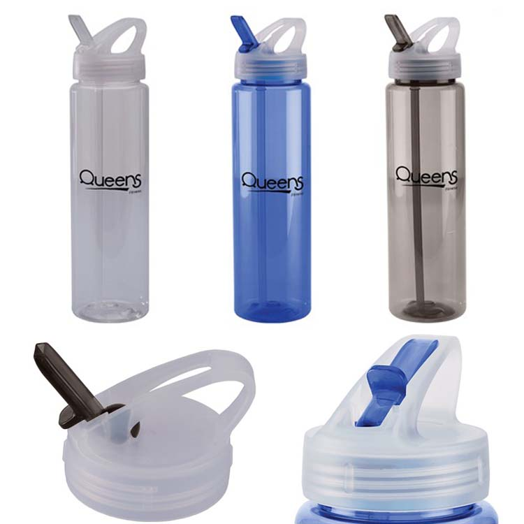 32 oz PET Freedom Bottle with Flip-Up Sipper Lid
