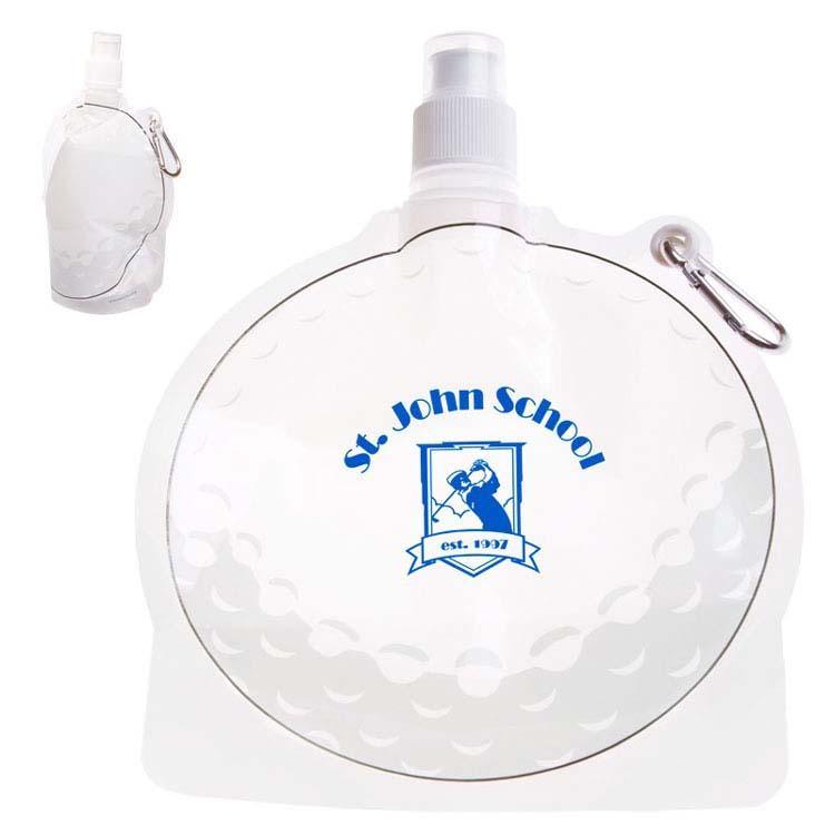 Bouteille d'eau pliable balle de golf de 24 oz