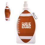 HydroPouch! 22 oz Football Collapsible Water Bottle