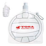 HydroPouch! 24 oz Volleyball Ball Collapsible Water Bottle