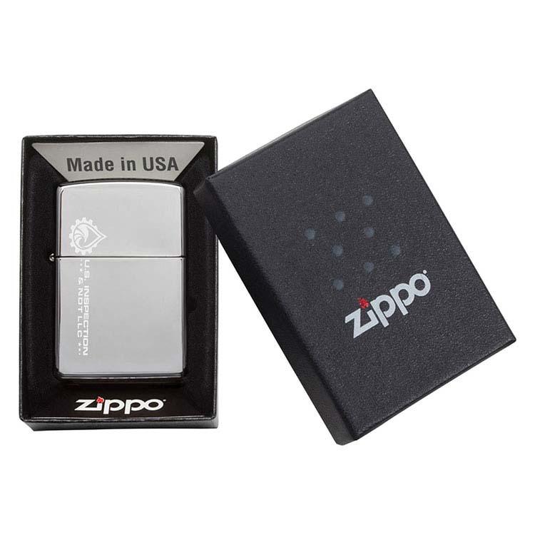 High Polish Chrome Zippo Windproof Lighter #3