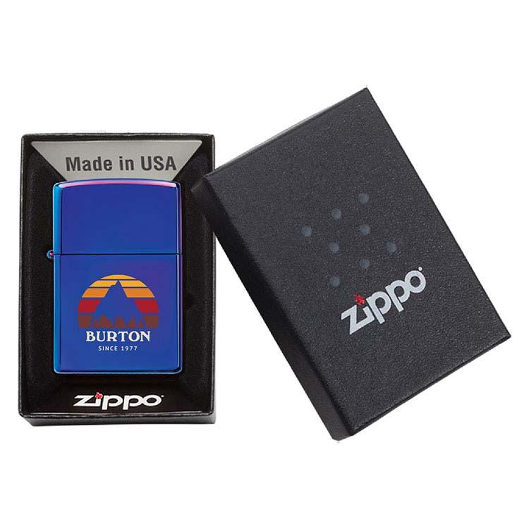 Briquet Zippo indigo #3