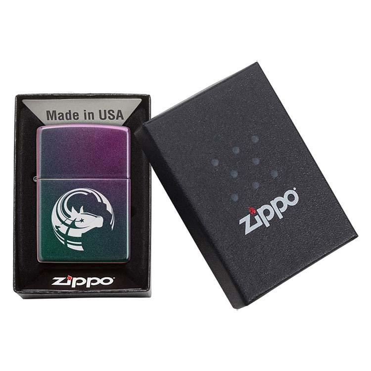 Briquet Zippo iridescent #4