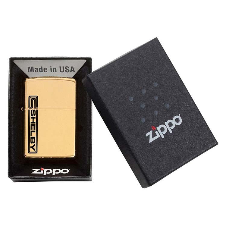 Briquet Zippo laiton poli #3