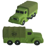 Camion de transport militaire anti-stress