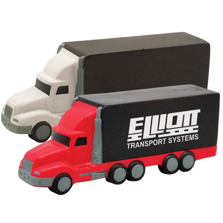 Camion semi-remorque anti-stress