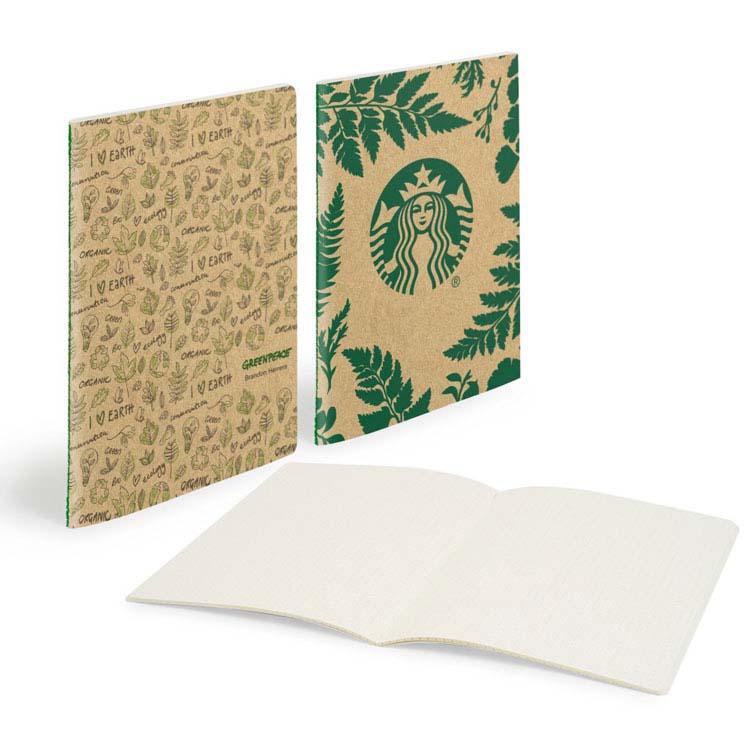 Carnet Scribl Medio à reliure cousue au centre avec carton lisse #3