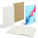 Scribl Notebook Mini Centre Sewn with Smooth Cardboard