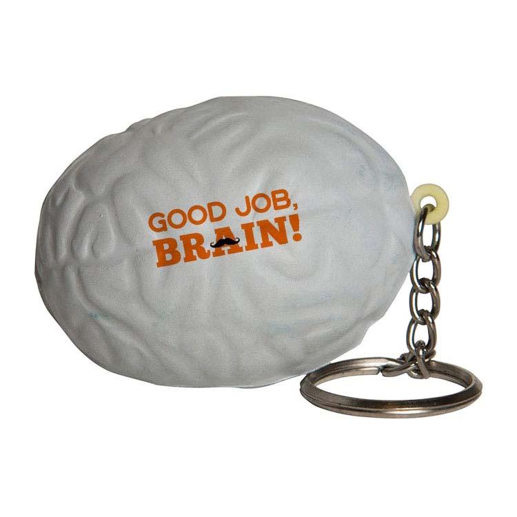Cerveau porte-clés anti-stress