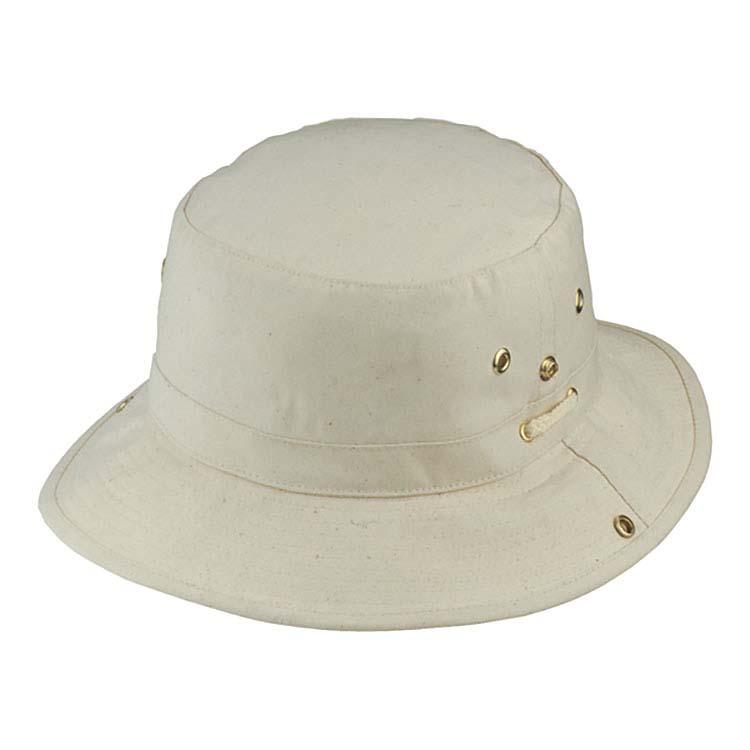 Chapeau de pêcheur en toile de coton