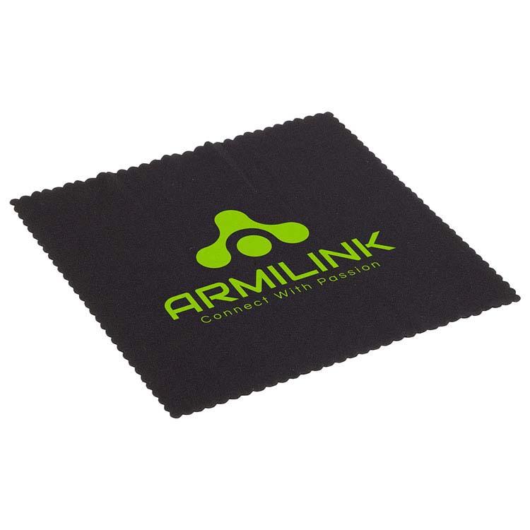Chiffon de lentille 6 pouces en microfibre avec additif antimicrobien