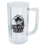 8 oz Plastic Beer Mug with Handle