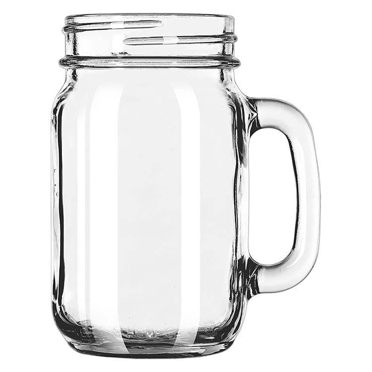 Chope pot Mason à boire 16 oz
