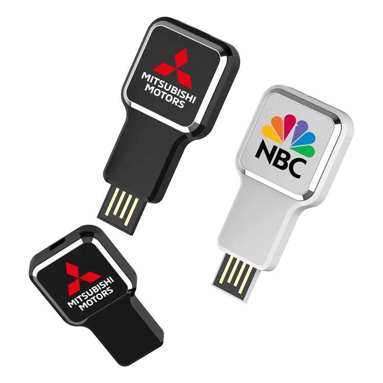 Clé USB carrée