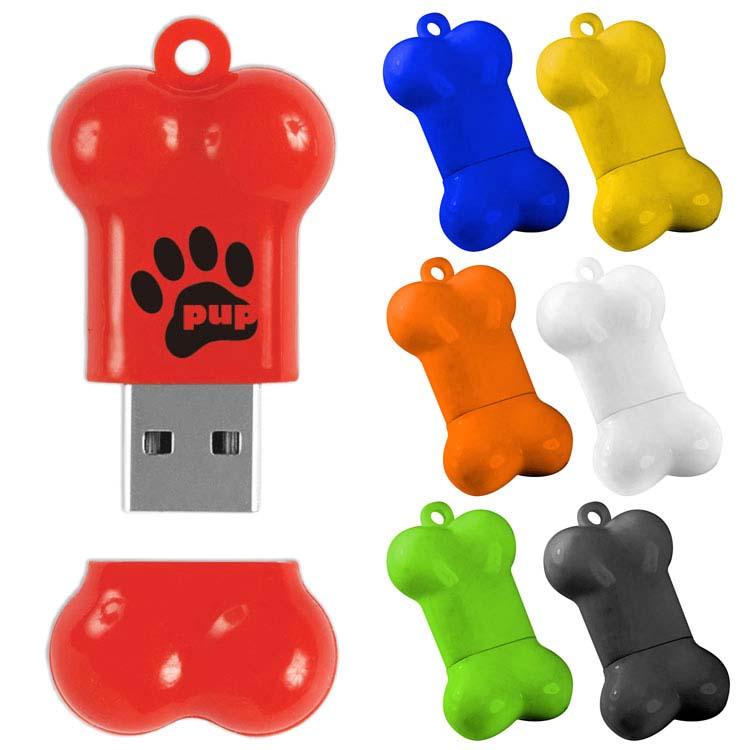Clé USB en forme d'os