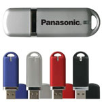 Clé USB en plastique de couleurs