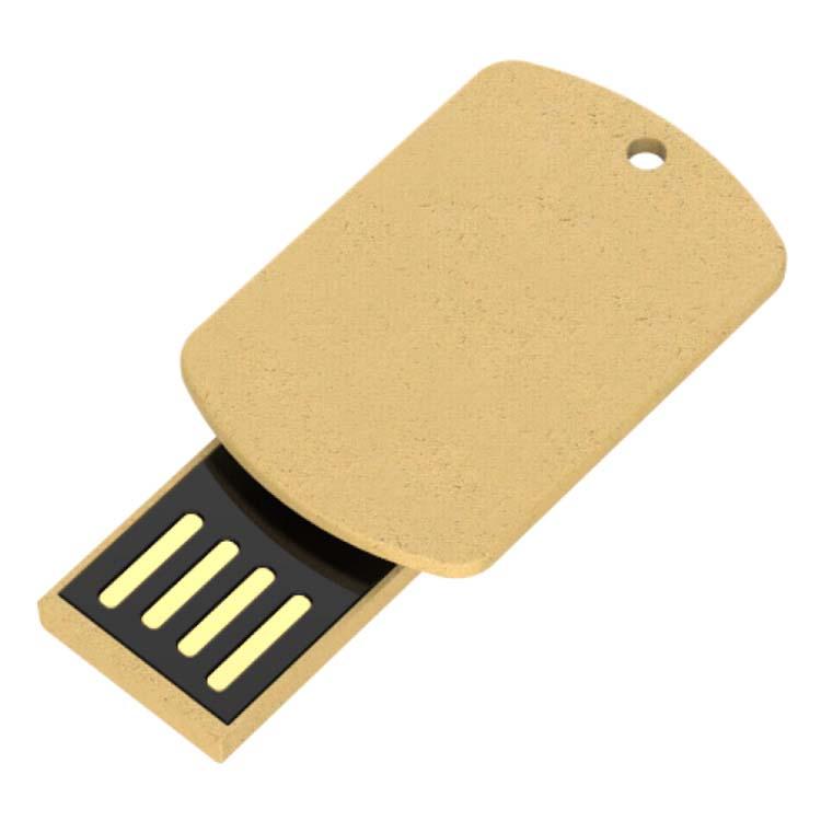Clé USB pince en papier