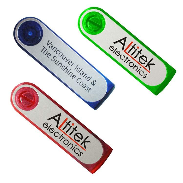 Clé USB pivotante en plastique #2