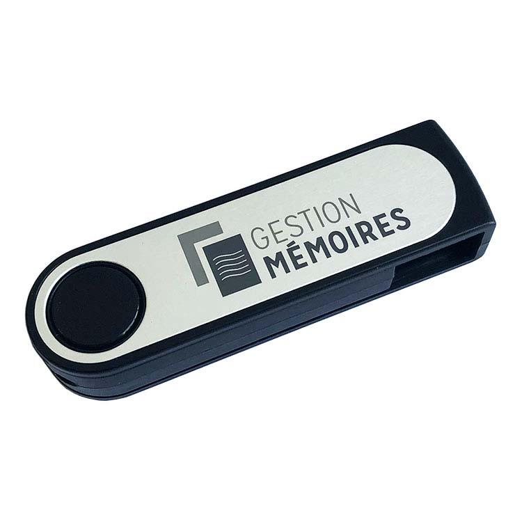 Clé USB pivotante en plastique #3