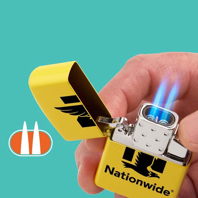 Coffret cadeau briquet Zippo mat et insert double butane #4